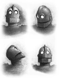 Iron Giant. One of my kids' favs.