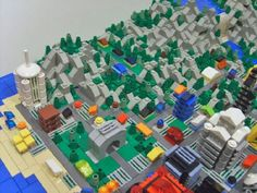 Shannonia expands: Dome Hill District: A LEGO® creation by Shannon Young : MOCpages.com