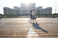 The scale of the Palace of Parliament, or Casa Poporului, beggars belief. Photograph: Alamy