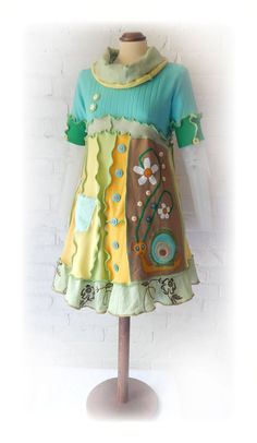 **** This Dress is RESERVED for CAROL LEGG **** A cute and quirky handmade…