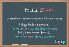 Ku przestrodze (police, a visit, information) - Loip Angielski Online English Grammar Tenses, English Vocabulary, English Writing, Teaching English, English Lessons, Learn English, Polish Language, Education English, Learning