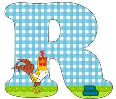 Letras La Granja de Zenon Abecedario para descargar gratis | Todo Peques Scrapbook Images, Alphabet Templates, Toddler Rooms, First Birthdays, Kids Rugs, Animals, Gabriel, Ideas, Farm Cake