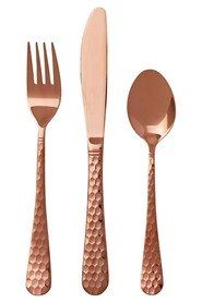 Smith + Nobel Rose Gold 32pc Cutlery Set Rosa