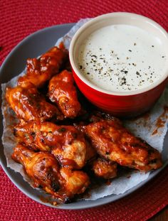 Cupcakes & Couscous: PEPPADEW® HOT WINGS with BLUE CHEESE DIP