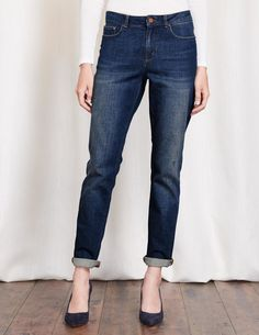 Cavendish Girlfriend Jeans WC188 Jeans at Boden