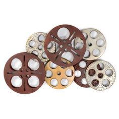Cinema Reels For Movie Room Peir One Has These Still Thinking I Need Them My Tv Home Sweet Laundry Pinterest Rooms