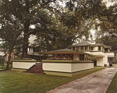 Frank Lloyd Wright's Ingalls House Hits Market With $1.3M Ask & Delightfully Retro Listing Photos - Curbed Chicago