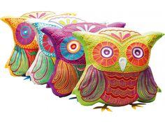 Poduszka Fiesta Owl Różne Kolory — Poduszki Kare Design — sfmeble.pl
