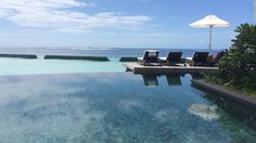 "<a href=""http://www.constancehotels.com/en/hotels-resorts/maldives/moofushi/"" target=""_blank"">Constance Moofushi </a>in the Maldives offers 24 beach villas and nearly 90 over-water villas. Nightly average rates for 2015 run about $1,370, with a low in June of about $1,050."