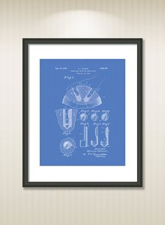This reproduction was digitally restored and in some cases altered to remove defects or unwanted artifacts present in the original #patent document.  Buy more and save! Buy ... #patentart #art #print #gift #digital #download #instant #wall #printable #drawings #bowling