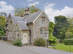 Chaplain's Lodge is a beautifully restored mid-Victorian gate-lodge, built in the 1890s in Gothic revival style.