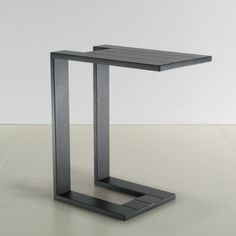 Linteloo bijzettafel Cup of Tea eiken antraciet Media Table, Laptop Table, Solid Oak, Steel Frame, Tea Cups, Furniture Design, New Homes, Nightstand, Home Decor