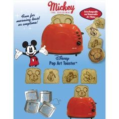 Mickey mouse toaster!!!!!