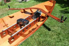 This drop-in rowing unit works with all our boats and many other vessel designs such as canoes or CLC rowing craft. It's also easy and economical to build.