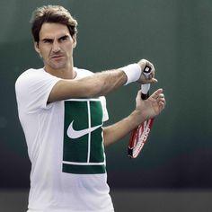 Il maestro #federer #rogerfederer #tennis #maestro #nike #like4like #love #sport