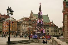 Old Town Christmas - Warsaw, Poland