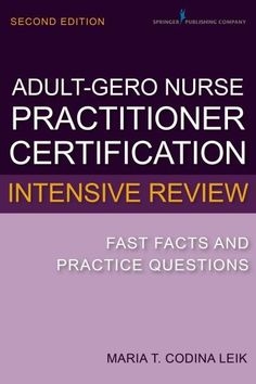 Adult Nurse Practitioner Exam Sample Questions