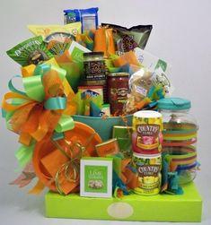 Beach Wedding Gift Basket Ideas : beach basket ideas Gift Baskets - Orlando Gift Basket - The Basket ...