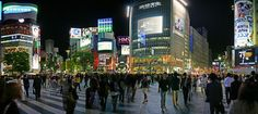 Shibuya Crossing, Tokyo Japan  Photograph by Chris Jongkind  This is Shibuya crossing in Tokyo, rumored to be the busiest pedestrian intersection in the world.