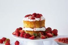 Maple Strawberry Cake Recipe on Food52 recipe on Food52
