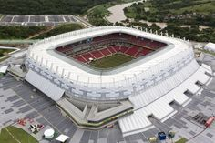 Itaipava Arena Pernambuco Stadium FIFA 2014 World Cup Images, Pictures, Photos, Wallpapers Baseball Park, Soccer Stadium, Football Stadiums, Stadium Tour, Basketball, Fifa 2014 World Cup, Brazil World Cup, World Cup Stadiums, International Soccer