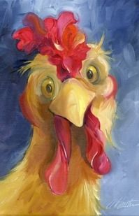 Us Seller Silly Rooster Chicken D Diamond Painting Kit - Mar Excited To Share The Latest Addition To My Etsy Shop Us Seller Silly Rooster Chicken D Diamond Painting Kit Round Drills Partial Drill Combined Shipping To Save Approx Xcm S Rooster Painting, Rooster Art, Chicken Painting, Chicken Art, Farm Chicken, Funny Chicken, Cartoon Chicken, Painting & Drawing, Pintura Graffiti