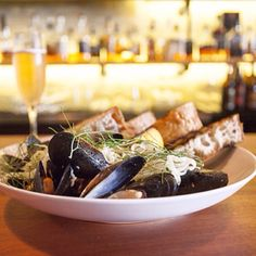 Breaking down the components of mussels to create a better dish from Kevin McMullen at The Brixton, Chicago, on Morsel