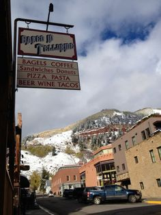 Must-stop in Telluride, CO...best baked goods!