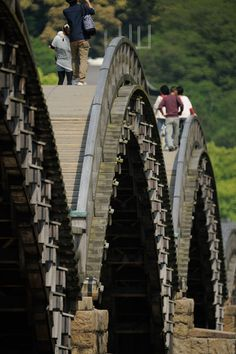 I love this bridge! I'd love to see it again! Kintai-Bridge #japan #yamaguchi…