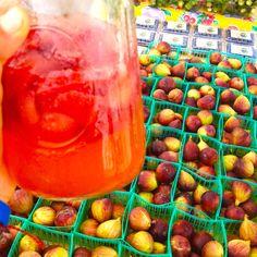 Strawberry Lemonade and Figs! www.rawfullyorganic.com