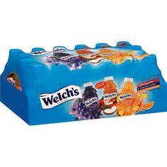 Welch's Variety Pack Juice - oz Count) for sale online Welch Juice, Snack Recipes, Snacks, Juice Drinks, Grape Juice, Kids Meals, Food Porn, Beverages, Food And Drink
