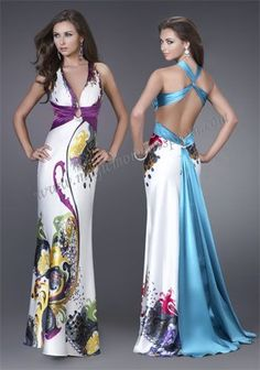 my actual senior prom dress (blue) :)