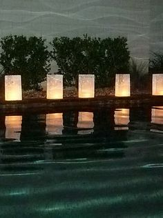 Luminair candle bags - Star bags at night $11.45/10 tea lights not included