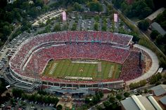 Scott Stadium...the only place to be on Saturdays :)