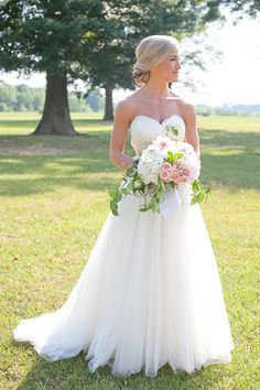 pink, white, and green bouquet   Kim Box