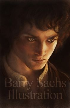 Frodo 11x17 Print Signed by Barry Sachs by BarrySachsBarryGood