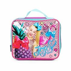Nickelodeon JoJo Siwa Purple Bow Backpack with Insulated Lunch Kit School  Bag  FABStarpoint  Backpack 9fdb25e5cff2f
