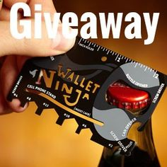 Click And Enter To Win A Free Wallet Ninja! The Worlds First 100% Flat Multi-Tool!