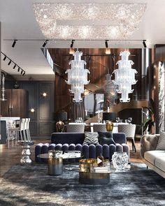 Luxury Interior Design, Contemporary Interior, Interior Architecture, Living Room Designs, Living Room Decor, Living Rooms, Italian Furniture Brands, Luxury Rooms, Expensive Houses