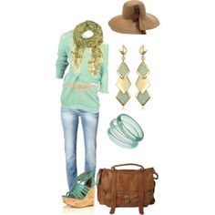 fun spring time outfit