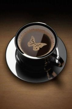 Coffee, Butterfly