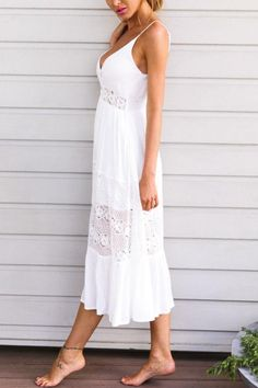 Details about  /White by Nature Women/'s 100/% Cotton Nightgown with Spaghetti Straps White  L NWT