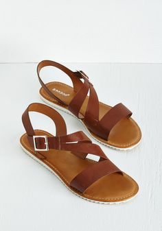 Boho Shoes and Accessories - Sunrise Strolling Sandal Socks And Sandals, Cute Sandals, Brown Sandals, Cute Shoes, Strap Sandals, Shoes Sandals, Pretty Sandals, Slipper Sandals, Flat Shoes