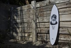 In memory of Jack O´neill Surfboard, by Polen Surfboards