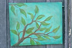"""Branching Out"" painting by Esther Orloff"