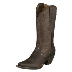 Cowboy Boots Rhinestone Cowgirl - Ariat I found these at the Mobile Shoe Hospital of all places !