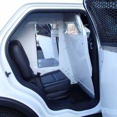 Ford Interceptor SUV 2013-2014 K-9 Insert w/ Prisoner Transport