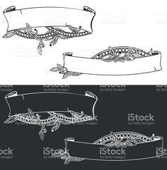 vintage ribbon royalty-free stock vector art
