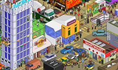 Megapont - Pixelart illustrations and animations for games and prints