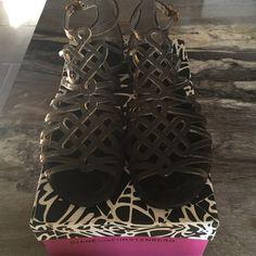 """Diane Von Furstenberg """"Jelly Gladiator"""" Color: Smoke Material: Translucent Rubber Diane von Furstenberg Shoes Sandals"""